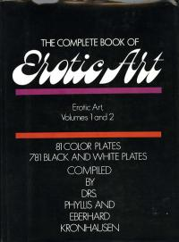 THE COMPLETE BOOK OF EROTIC ART - VOLUMES 1 AND 2